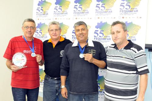 Companheiros do Rio Grande do Sul são homenageados pelo apoio ao Projeto Verão sem AIDS 2013