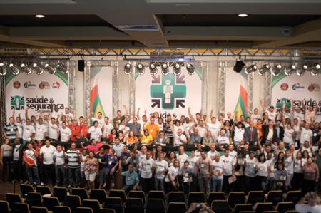 CNTQ prestigiou Seminário Internacional de Saúde e Segurança do Trabalhador Brasil/Itália