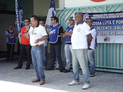 STI Itapetininga mobiliza trabalhadores da 3M e tem apoio da CNTQ