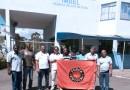 Sindicatos fazem manifestação na porta da Imbel Juiz de Fora