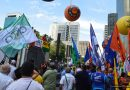 Centrais sindicais protestam contra juros altos na Avenida Paulista