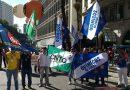 Diversas categorias fazem manifestação na luta por manutenção de direitos trabalhistas em todo o Brasil