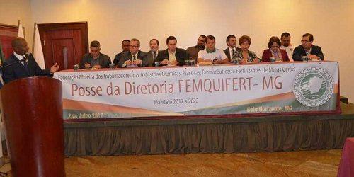 Nova diretoria toma posse na Femquifert/MG