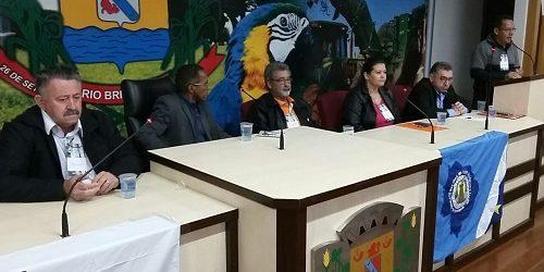 Químicos de Mato Grosso do Sul fazem seminário sobre reforma trabalhista e previdenciária em Rio Brilhante