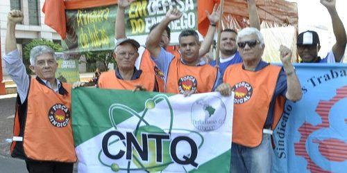 Químicos de Guarulhos (SP) em ato #Primavera de Lutas