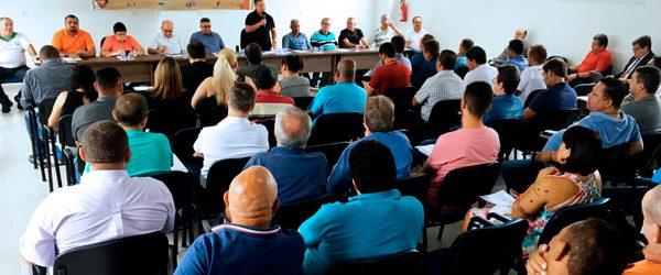Lideranças dos Químicos de São Paulo reunidos pela valorização e fortalecimento das negociações coletivas