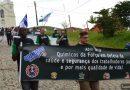 Caminhada em Piquete faz homenagem às vítimas de acidentes e doenças do trabalho