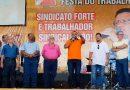 FERQUIMFAR participa de comemorações de 1º de Maio