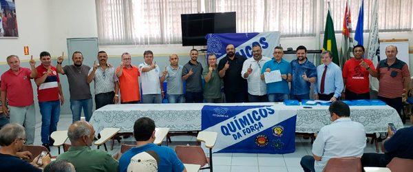 Diretoria do STI Rio Claro é reeleita com 97,96% dos votos