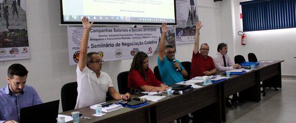Pré-Pauta de Reivindicações dos trabalhadores no setor industrial farmacêutico é aprovada
