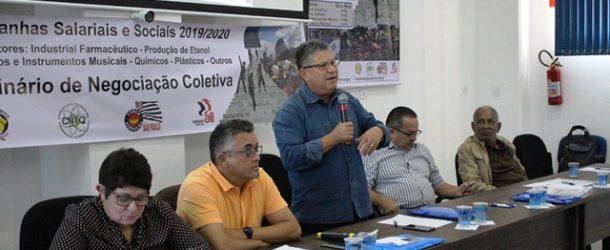 Conselho Político Consultivo da FEQUIMFAR discute mudanças na estrutura sindical e MP 873 e 881