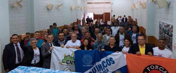 Eleição Sindiquímicos Guarulhos chapa 1 vence com 97,11% dos votos